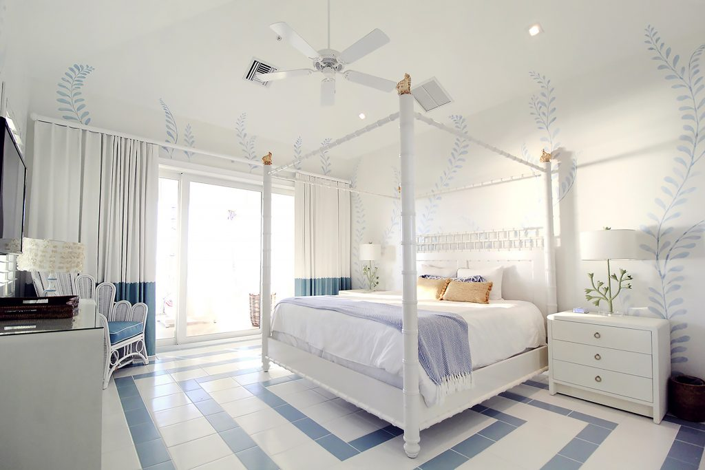 Blue Seaweed Room